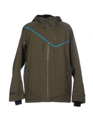 Куртка VÖLKL. Цвет: зеленый-милитари