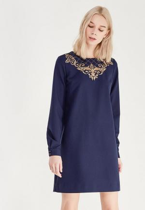 Платье Ksenia Knyazeva. Цвет: синий