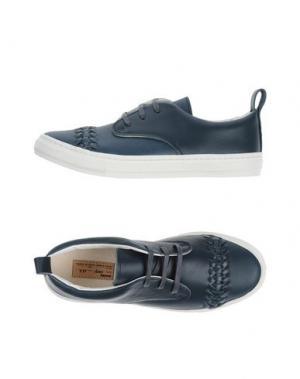 Низкие кеды и кроссовки BUDDY. Цвет: темно-синий