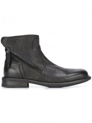 Ботинки на молнии Bruno Bordese. Цвет: чёрный