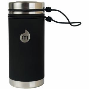 Термобутылка Для Воды MIZU. Цвет: st black le w/ sst lid & rope leash