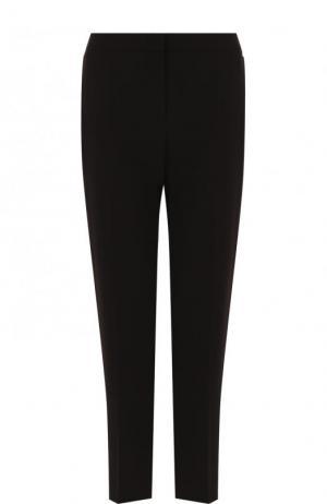 Укороченные однотонные брюки со стрелками Escada. Цвет: черный