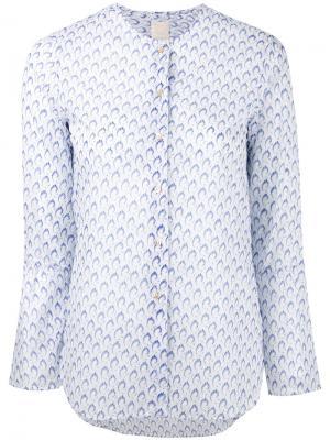 Printed shirt Xacus. Цвет: белый