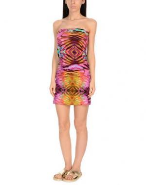 Пляжное платье MISS BIKINI. Цвет: фиолетовый