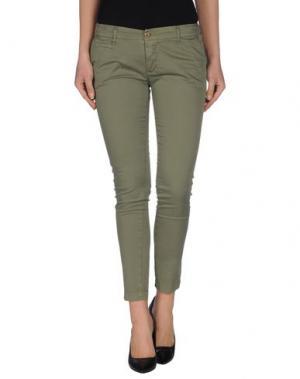 Повседневные брюки GIORGIA & JOHNS. Цвет: зеленый-милитари