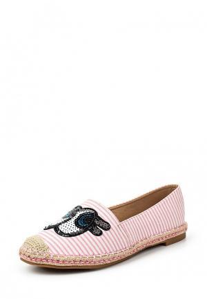 Эспадрильи Sweet Shoes. Цвет: розовый