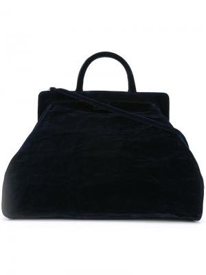 Большая сумка-тоут Zilla. Цвет: синий