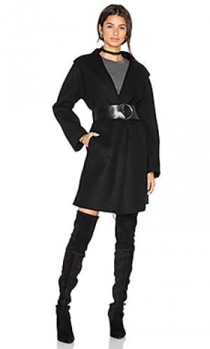 Свободное пальто dora baldwin. Цвет: черный