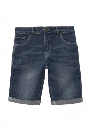 Шорты джинсовые E-Bound. Цвет: синий