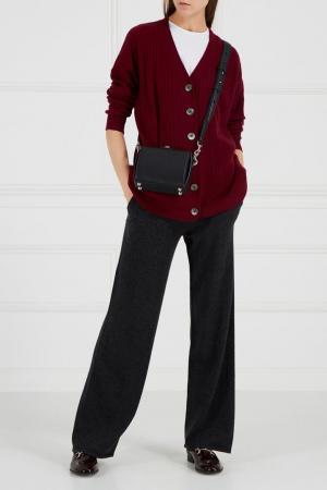 Серые кашемировые брюки Addicted. Цвет: серый