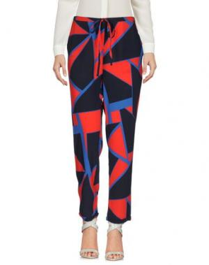 Повседневные брюки DORALICE. Цвет: темно-синий