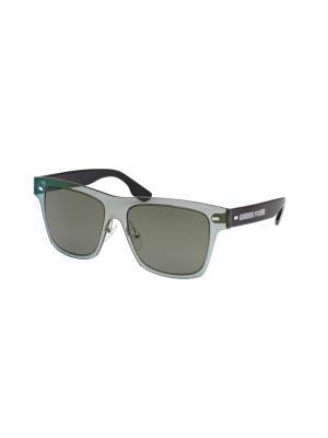 Солнцезащитные очки McQueen. Цвет: зеленый