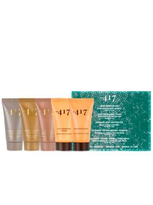 Дорожный набор средств по уходу за волосами и телом ( Minus 417. Цвет: белый