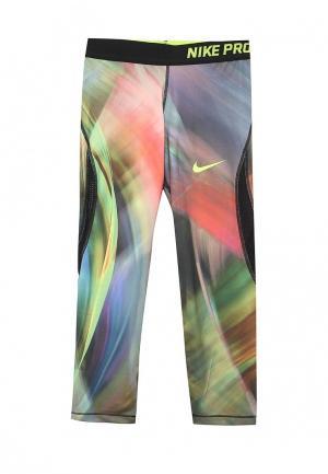 Капри Nike. Цвет: разноцветный