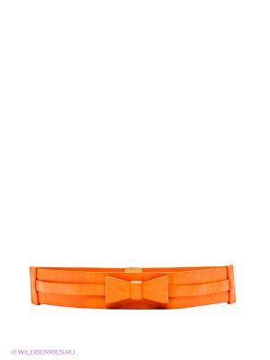 Ремень MONDIGO. Цвет: оранжевый