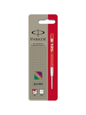 Стержень гелевый для шариковых ручек Parker. Цвет: красный