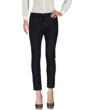 Повседневные брюки JFOUR. Цвет: баклажанный