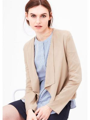 Жакет S.OLIVER. Цвет: коричневый