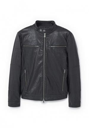 Куртка Mango Man. Цвет: черный