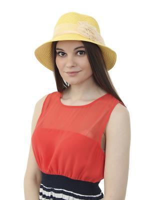 Шляпа Gusachi. Цвет: желтый, белый, розовый