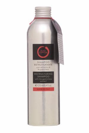 Шампунь с экстрактом бугенвиллеи Restructuring Shampoo, 250ml Aldo Coppola. Цвет: multicolor