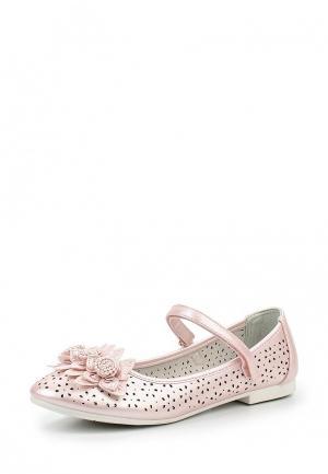 Туфли Zenden Collection. Цвет: розовый