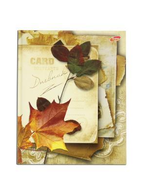 Дневник школьный  Осень VELD-CO. Цвет: желтый
