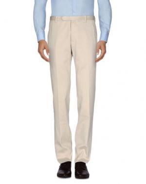 Повседневные брюки COSTUME NATIONAL HOMME. Цвет: бежевый