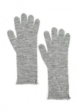 Перчатки Coccinelle. Цвет: серый