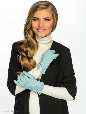 Перчатки Dali Exclusive. Цвет: бирюзовый