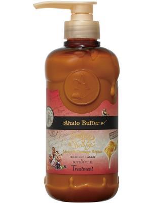 Бальзам-ополаскиватель увлажняющий и восстанавливающий  с тропическими маслами, 500 мл. AHALO BUTTER. Цвет: коричневый