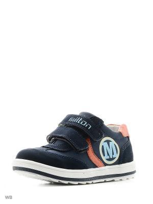 Ботинки Milton. Цвет: синий, темно-синий