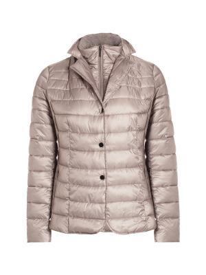 Куртка Fiorella Rubino. Цвет: оливковый