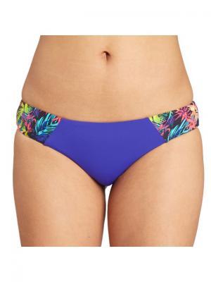 Плавки SOL SEARC. HAWAII LO BILLABONG. Цвет: темно-фиолетовый, салатовый, светло-голубой