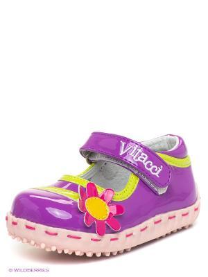 Туфли Vitacci. Цвет: сиреневый