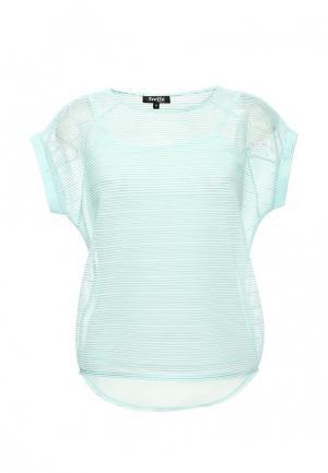 Блуза Stella Morgan. Цвет: бирюзовый