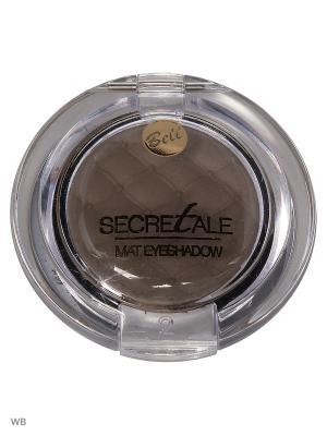 Bell Тени Для Век Матовые Secretale Mat Eyeshadow Тон 07. Цвет: серо-коричневый