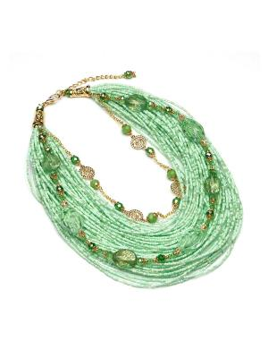 Ожерелья FOXTROT. Цвет: салатовый