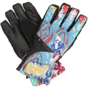 Перчатки сноубордические женские  Wb Gore Undgl Kasbah Burton. Цвет: мультиколор,черный
