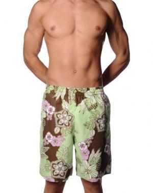Пляжные брюки и шорты WESTPORT. Цвет: хаки