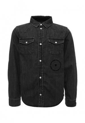 Рубашка джинсовая Guess. Цвет: серый