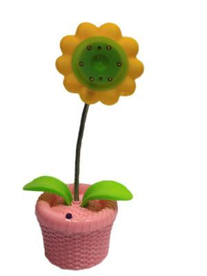 Сувенир-ночник-цветок 6т. аккум.3цв. Aroma-Garden. Цвет: розовый, желтый