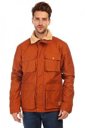 Куртка зимняя  M15 Jacket Adobe CLWR. Цвет: коричневый