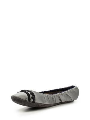 Тапочки Petit Pas. Цвет: серый
