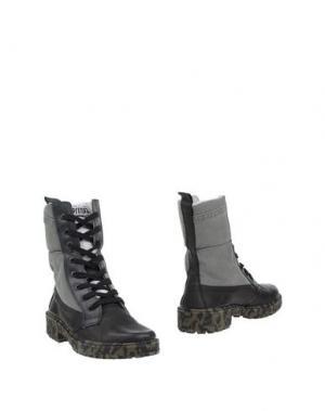 Полусапоги и высокие ботинки SPRINGA. Цвет: светло-серый