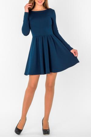 Платье S&A style. Цвет: темно-синий