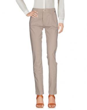 Повседневные брюки CRUCIANI. Цвет: бежевый