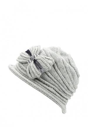 Шляпа Miss sherona. Цвет: серый