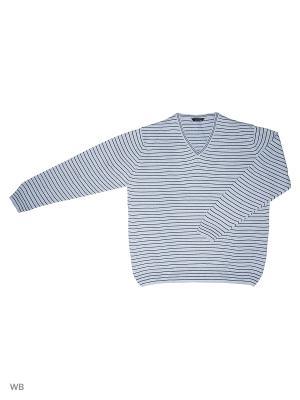 Пуловер GALS. Цвет: синий, голубой