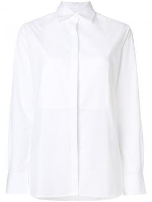 Рубашка в стиле смокинга Racil. Цвет: белый